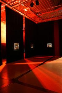 Exhibition view The Modern Caveman Niko Hendrickx.