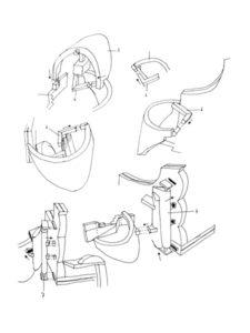 Modelling kit reconstruction instructions.