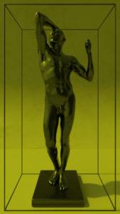 August Rodin Bronze Age videostill