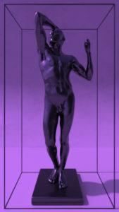 Rodin's Bronze Age black finish